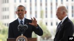 Obama iyo ku xigeenkiisa Joe