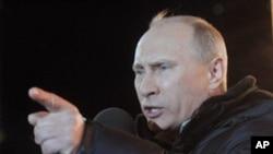 4일 대통령 선거에서 승리한 블라디미르 푸틴 러시아 총리.