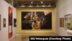 """""""Mi Vida"""" được Trevino vẽ trong 2 năm từ 1971-1972. (Ảnh GQ Velasquez)"""