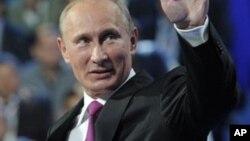 Vladimir Putin Shugaban Kasa Rasha