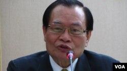 台湾法务部长曾勇夫 (资料图片)