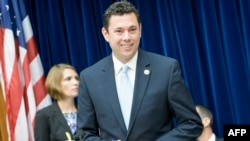 Committee Chairman Rep. Jason Chaffetz (R-UT) takes his seat for a hearing of the House Oversight and Government Reform Committee on Capitol Hill, June 16, 2015 in Washington, DC.