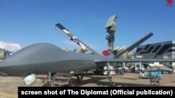 Ảnh máy bay không người lái CH-5 của Trung Quốc được chia sẻ trên mạng internet