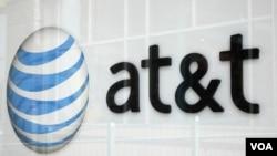 Las acciones de AT&T cayeron un 3,5%%, mientras que las de su rival Sprint Nextel Corporation subieron 9,9%.