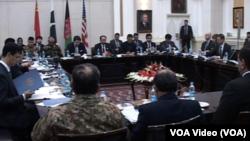 چار فریقی گروپ کا کابل میں ہونے والا اجلاس (فائل فوٹو)