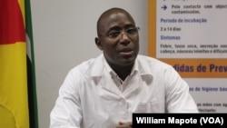 Armindo Tiago, ministro da Saúde de Moçambique (Foto de Arquivo)