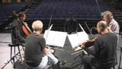 اجرای «مرثیه ای برای بازماندگان» ساخته یک آهنگساز ایرانی درتورجهانی گروه چهارنفره «کرونوس»