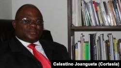 Celestino Joanguete, professor de jornalismo,