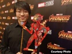 Is Yuniarto, ilustrator dan seniman komik di Surabaya (dok: Is Yuniarto)