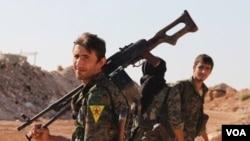 نیروهای یگان مدافع خلق در سوریه