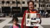 維吾爾人權團體 紐約中領館前抗議高壓