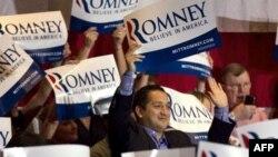 Прихильники Мітта Ромні в Іллінойсі