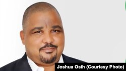 Joshua Osih, Vice President du Social Demoratic Front ( Cameroun )