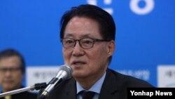 한국 야당인 새정치민주연합 박지원 의원 (자료사진)