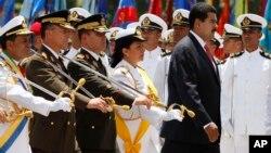 """La ministra Carmen Meléndez dijo que el presidente de Venezuela, Nicolás Maduro estuvo """"abocado a los ascensos""""."""