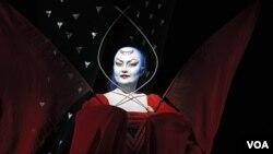 Альбина Шагимуратова в роли Царицы ночи
