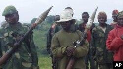 Des combattants d'une ancienne milice de la zone de Lubero, dans l'est de la RDC. (Archives)