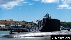 13 Eylül 2021 - ABD donanmasına ait USS Illinois denizaltı