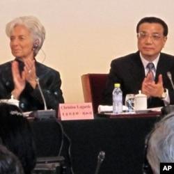 IMF總裁拉加德星期日在北京出席論壇