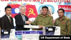 U.S. And Laos Combatting Illegal Drugs