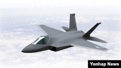 한국 방위사업청이 공개한 KF-X 형상.