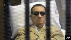 埃及前總統穆巴拉克。