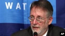 Joe Stork, spesialis masalah Timur Tengah dari organisasi HAM, Human Rights Watch (Foto: dok).