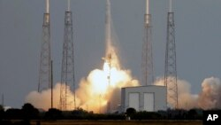 """Lansiranje rakete privatne kompanije """"SpaceX"""""""