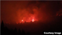 Požar na Staroj planini (Foto: Odbranimo reke Stare planine)