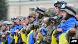 Бійці батальйону МВС «Східний корпус»