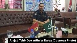 د پاکستاني پولیسو وژل شوی پښتون افسر طاهر خان داوړ