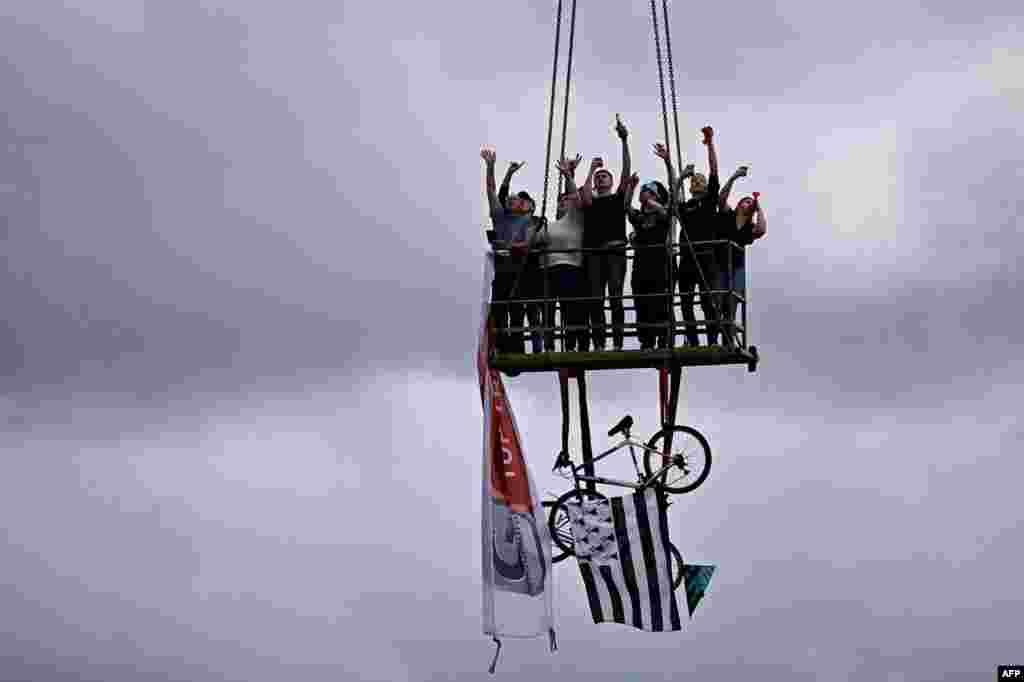 Tour de France velosiped yarışının 2-ci mərhələsi
