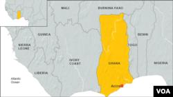Ikarata ya Ghana n'ibihugu bihana imbibe