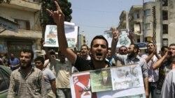 کشته شدن ۱۲ نفر در زد و خورد معترضان و ماموران امنيتی در سوریه