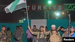 Бойцы курдского Отряда народной самообороны (YPG)