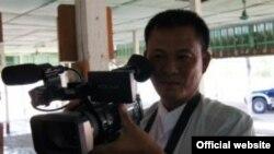 DVB သတင္းေထာက္ ဦးေဇာ္ေဖ Credit to DVB Burmese