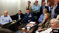 Las imágenes vistas desde la Sala de Situaciones de la Casa Blanca fueron suficientes para saber al detalle qué estaba sucediendo.