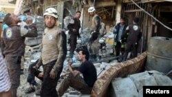 La guerra en Siria ha dejado en cinco años 270.000 muertos, según el OSDH.
