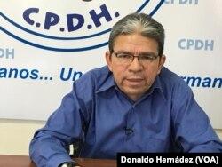 Pablo Cuevas, representante de la Comisión Permanente de Derechos Humanos de Nicaragua.