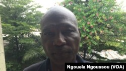 Joseph Ngoma Ndolo, activiste pour les droits des autochtones dans la Lékoumou, Congo-Brazzaville, 29 novembre 2017. (VOA/Ngouela Ngoussou)