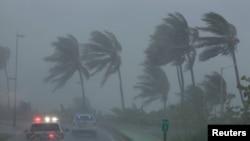 ဟာရီကိန္း Irma အေမရိကန္ျပည္ေထာင္စု ဖေလာ္ရီဒါကို ဦးတည္ေန