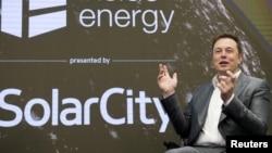 Elon Musk, Chairman of SolarCity and CEO of Tesla Motors.