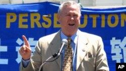 加州眾議員羅拉巴克說中共借西方思想壓迫中國人民。