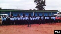 Agentes da polícia - Angola Malanje