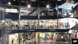 Pusat perbelanjaan the Mall of America di negara bagian Minnesota, AS siaga penuh setelah ancaman teror (foto: dok).