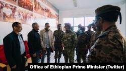 PM Abiy AHmed in Mekelle