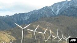 加利福尼亚州的风力发电场