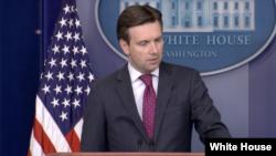 白宫发言人欧内斯特(图片来源:美国白宫)
