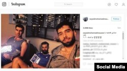 تصویری از ایستاگرام محمد موسوی، والیبالیست ایرانی در المپیک ریو