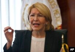 Luisa Ortega Diaz, destituida fiscal general de Venezuela.